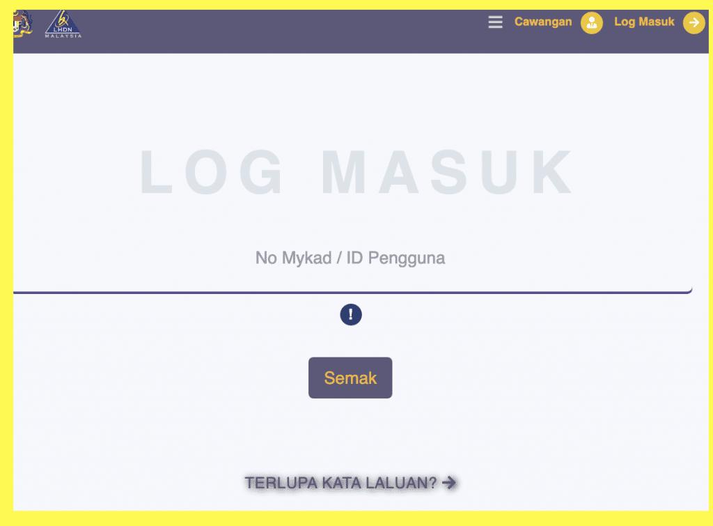 log masuk