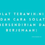 solat terawih